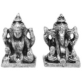 deity of success white metal god idols figures