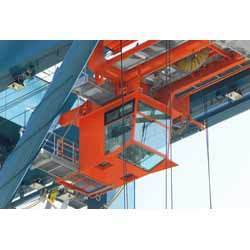 Crane Cabinets for Steel Plant Cranes, STS, and RTG Cranes