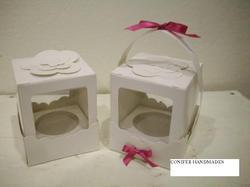 Embellished Cup Cake Boxes
