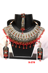 Rajwadi Kundan Necklaces