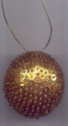 Beaded Christmas Ornament BCO103