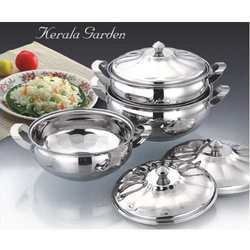 Designer Stainless Steel Handi Set