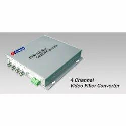 4 Channel Video Fiber Converter