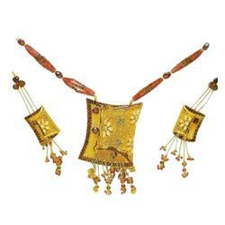 VKG 1009 Gold Necklace Set