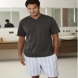 Mens Half Pant Night Wear
