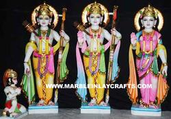 Marble Ram Darbar God Statue