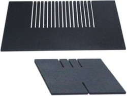 Slit Plate, Single, Triple And Multiple Slit Comb