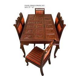 Wooden dining set, Bar jharokha