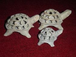 soap stone tortoise