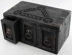 Antique Wooden Boxes