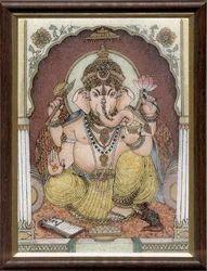 Ganesha+Gemstone+Paintings