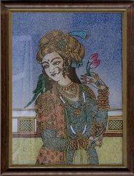 Mughal+Queen+Gemstone+Paintings