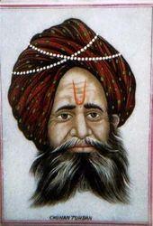 Chauhan+Turban+Painting