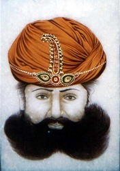 Royal Turban Painting