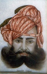 Jodhpuri Turban Painting