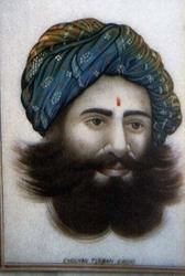 Chouhan+Turban+Painting