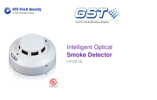 intelligent optical smoke detector i 9102 ul 500x500 addressable fire system gst manufacturer from new delhi est smoke detector wiring diagram at virtualis.co