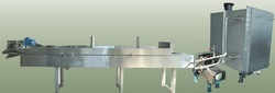 continuous fryer heat exchnager based