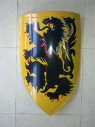 Medieval Lion Shield