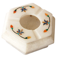 White Marble Ashtray