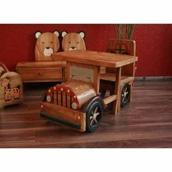 Wooden Car Desk