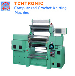 Computrised Crochet Knitting Machine