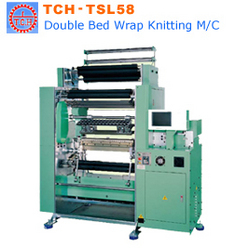 Double Bed Wrap Knitting Machine