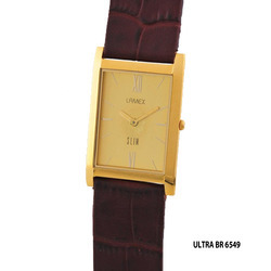 Men's Golden Square Dial Watch