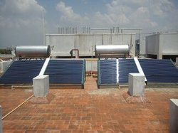Solar Water Heater for Hospitals