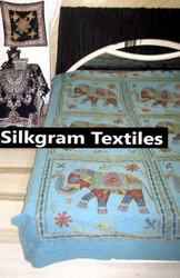 Set Silk Ac and Bed Set