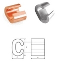 Copper 'C' Type Connectors