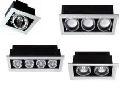 Nvc indoor down lights fixtures multiple recessed down light multiple recessed down light aloadofball Images