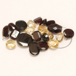 Garnet & Citrine Loose Gemstone
