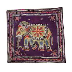 Elephant Design Cushion Cover