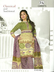 Party Wear Cotton Suits