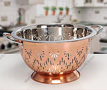 Sunflower Colander With Copper