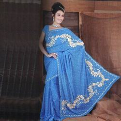 Fashion Crepe Saree