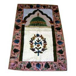 Embroidered Pray Rug
