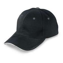 cotton black cap