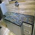 Blue Tiger Eye Stone Counter Top