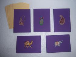 Indian Custom Printed Greeting Cards