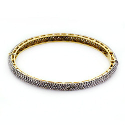 Pave Diamond Sleek Bangles