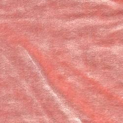 Cotton Viscose Velvet Peach Puff