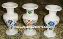 Marble Inlay Flower Vase