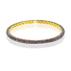 Handmade Pave Diamond Bangle Jewelry