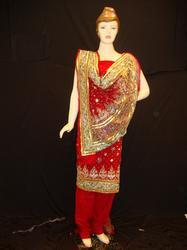Embroidered Suit Duppatta
