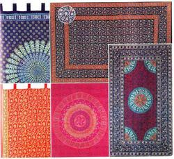 Sanganeri Block Print Mats & Table Cover