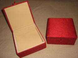 Raw Silk Box