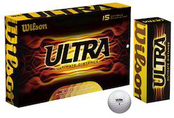 wilson ultra ultimate golf balls