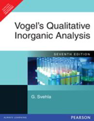 Vogels Qualitative Inorganic Analysis